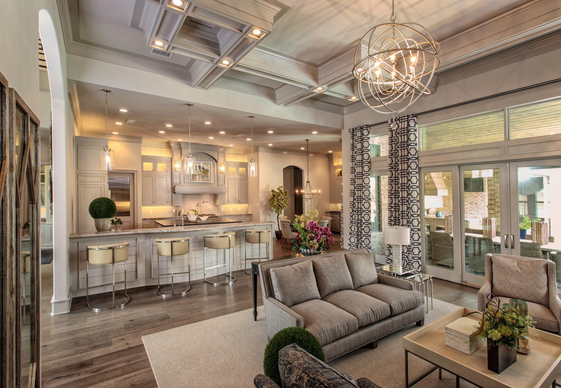 Custom Luxury Open Floor Plan