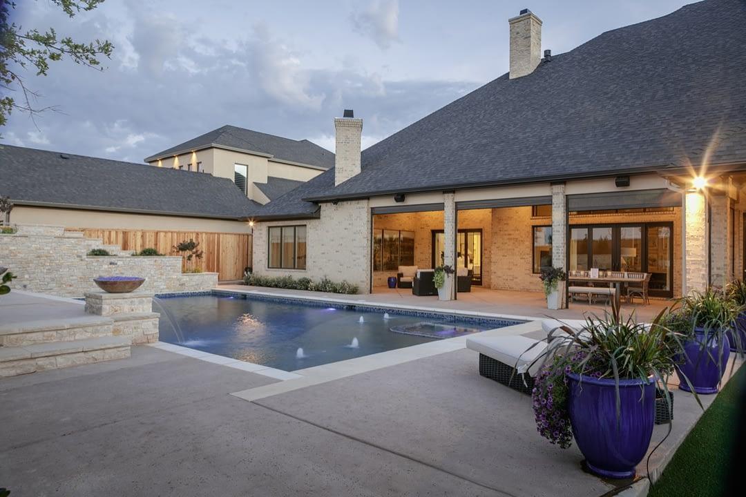Luxury Custom Home by Mick Becknal & Co