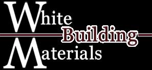 White Building Materials Logo