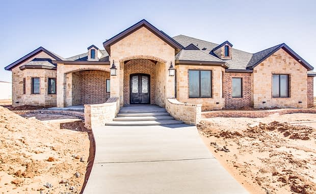 Luxury Custom Home in Ropes, TX built by by Mike Becknal & Company